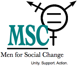 logo for men for social change