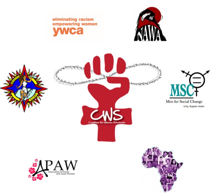 CWS logo surrounded by logos of six member organizations